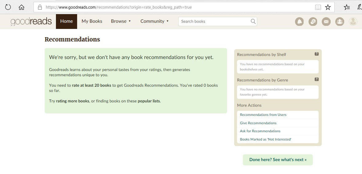 home goodreads