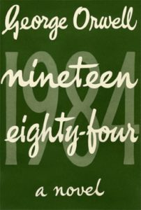 primera portada 1984 george orwell novela distópica