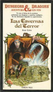 las cavernas del terror libro dragones mazmorras dungeons dragons
