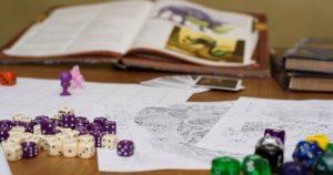juegos de rol libros diversión leer jugar dados