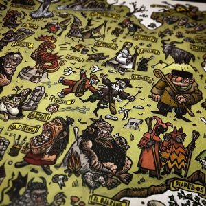 el mundo encantado de castilla y león tomás hijo museo etnográfico mapa libro